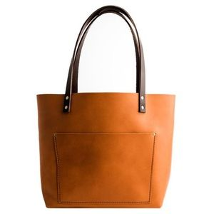Portland Leather Good Saddle XL Tote